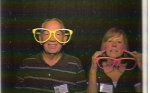 From DeLon Curtis - Photo Booth - My wife didn't quite get glasses on quick enough :)